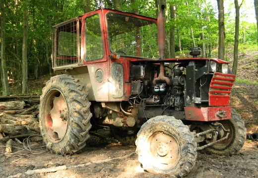 Tractor forestier - lateral